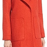 Bernardo Textured Long Coat ($198)
