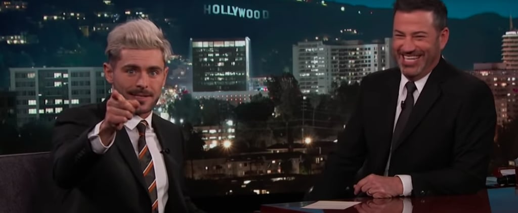 Zac Efron Insulting Christian Bale Jimmy Kimmel Video