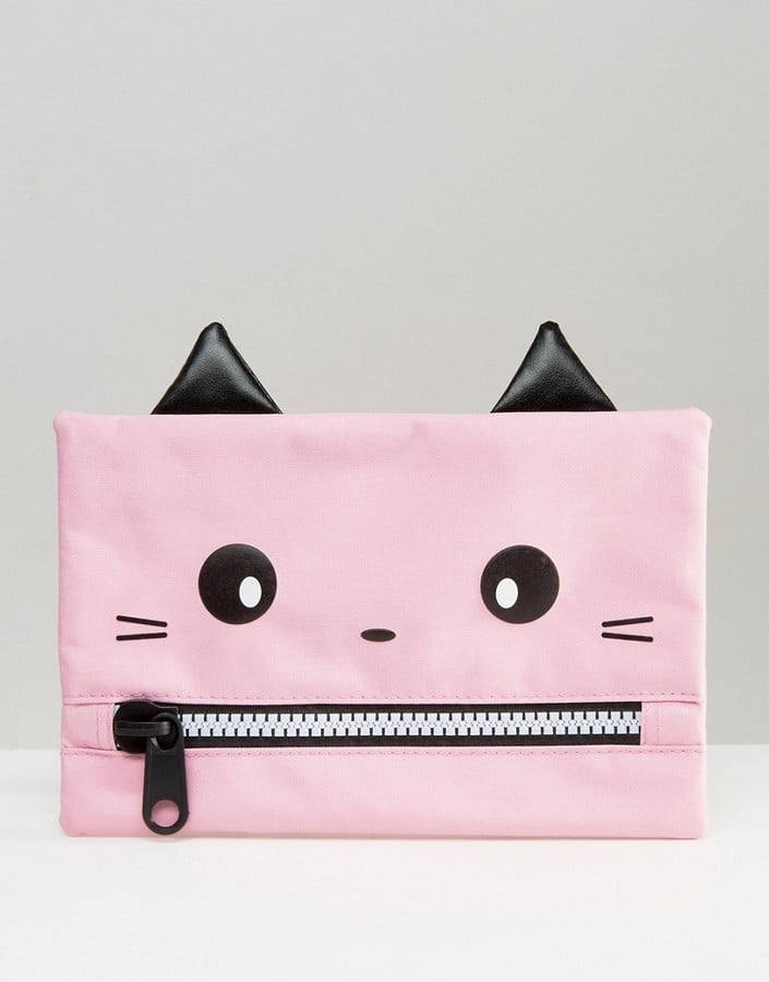 Paperchase Cat Pencil Case ($10)