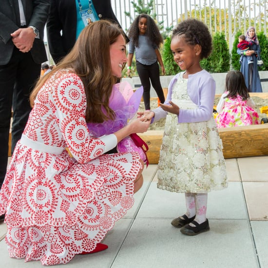 Pictures of Kate Middleton With Little Girls