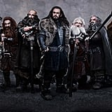 The cast of The Hobbit: An Unexpected Journey.