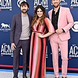 Pictured: Dave Haywood, Hillary Scott, and Charles Kelley