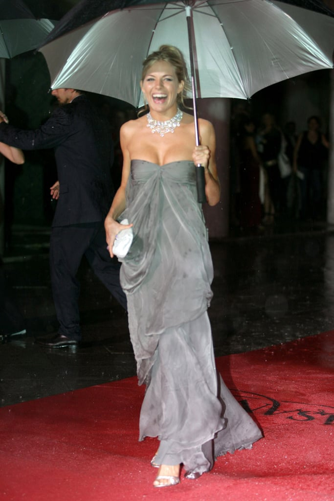 Sienna wore a megawatt look (and a megawatt smile to match) at the 2005 Venice Film Festival.