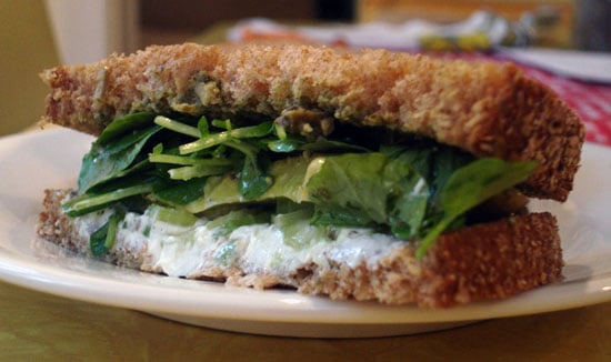 Recipe For 'Wichcraft's Goat Cheese Sandwich With Avocado