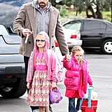 Ben Affleck Fits In Family Time Ahead of His Big SAGs Win