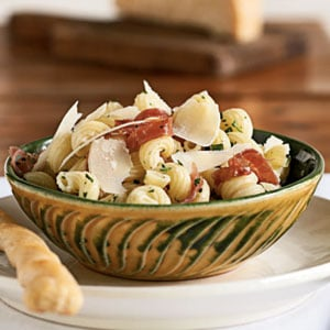 Fast & Easy Dinner: Cavatappi with Prosciutto and Parmesan