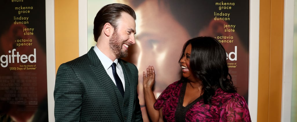 Chris Evans and Octavia Spencer Birthday Tweets June 2018