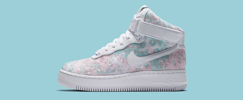 These New Sequined Nike Sneakers Could Easily Belong to a Disney Princess