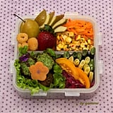 Corn and Carrot Salad Bento