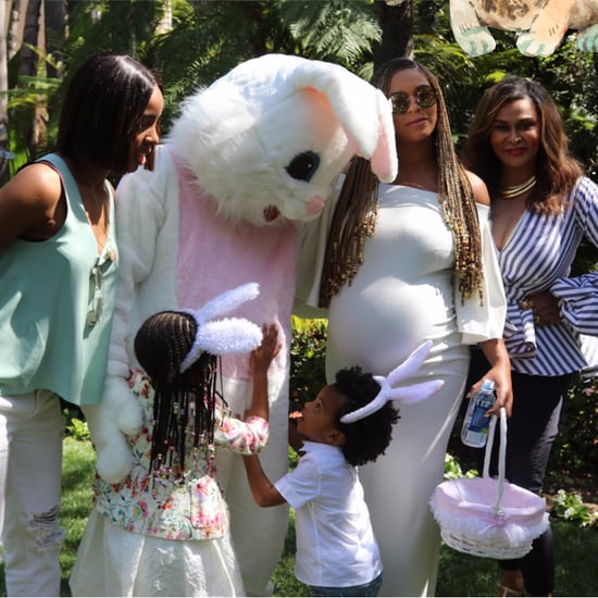 Tina Knowles's Instagram Photo With Beyonce Easter 2017