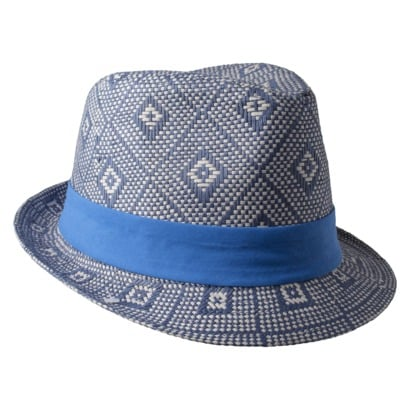 Show off your little boy blue in this stylin' chapeau by Cherokee ($7).