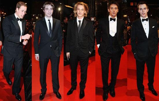 Photos of Men on BAFTA 2010 Red Carpet