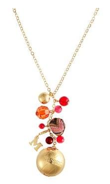 Missoni Solid Perfume Charm Necklace