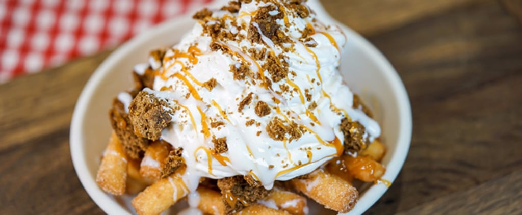 Important Announcement: Disneyland Now Has Gingerbread Funnel Cake Fries