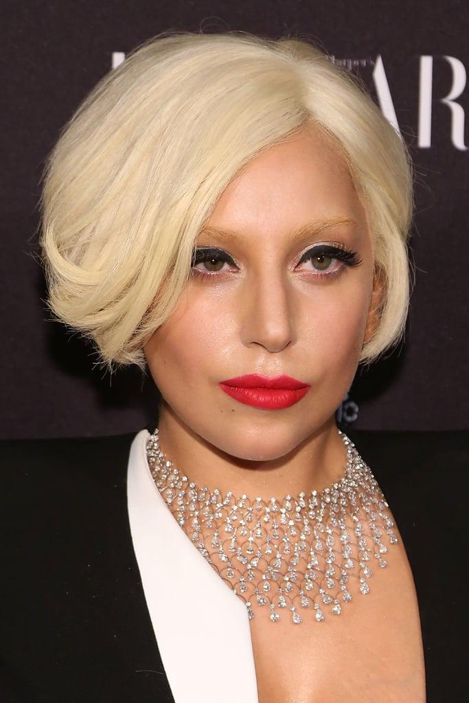 Lady Gaga at the Harper's Bazaar Icons Celebration