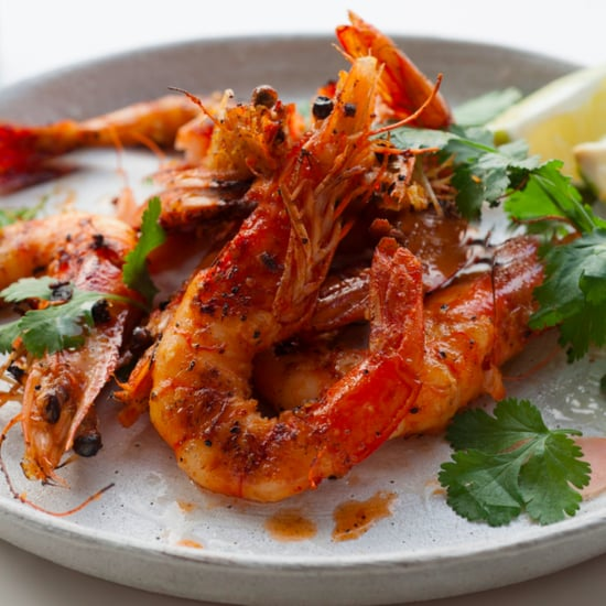 Grilled Tiger Prawns With Southern Thai-Style Coconut Curry