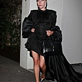 Lady Gaga's All-Black Outfit in LA