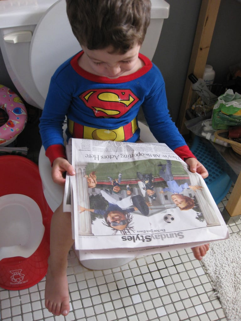 how to start potty training your boy