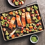 Asian Salmon Sheet Pan Dinner