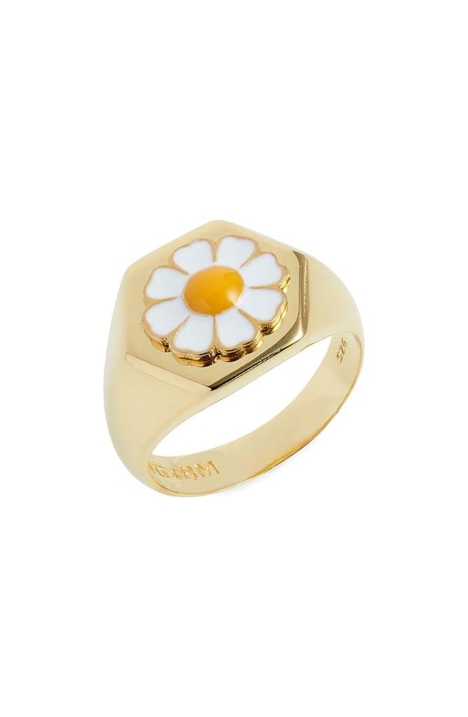 Wilhelmina Garcia Flower Ring