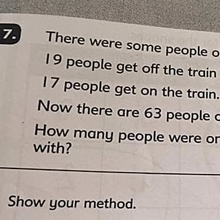 Math Test Question Stumps Parents