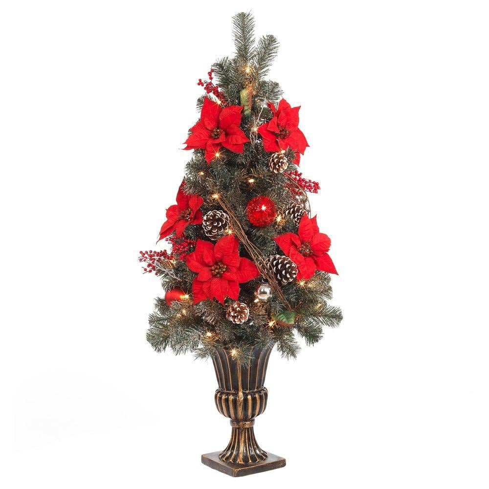 Home Accents Holiday 4 Ft Home Depot Christmas Trees Popsugar