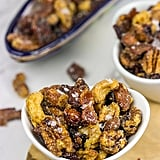 Make-Ahead Appetizer: Maple Glazed Mixed Nuts with Candied Bacon