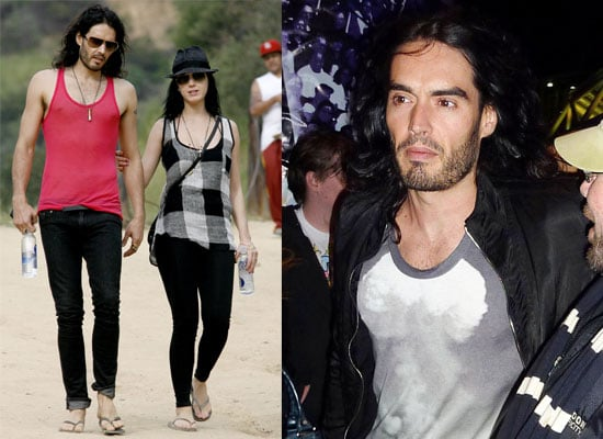 Photos of Russell Brand and Katy Perry in LA