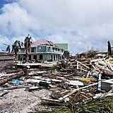 A look at the damage on the island of Saint-Martin on Sept. 7.