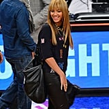 Beyoncé Knowles and Jay-Z Watch the Nets Win —Over the Knicks!