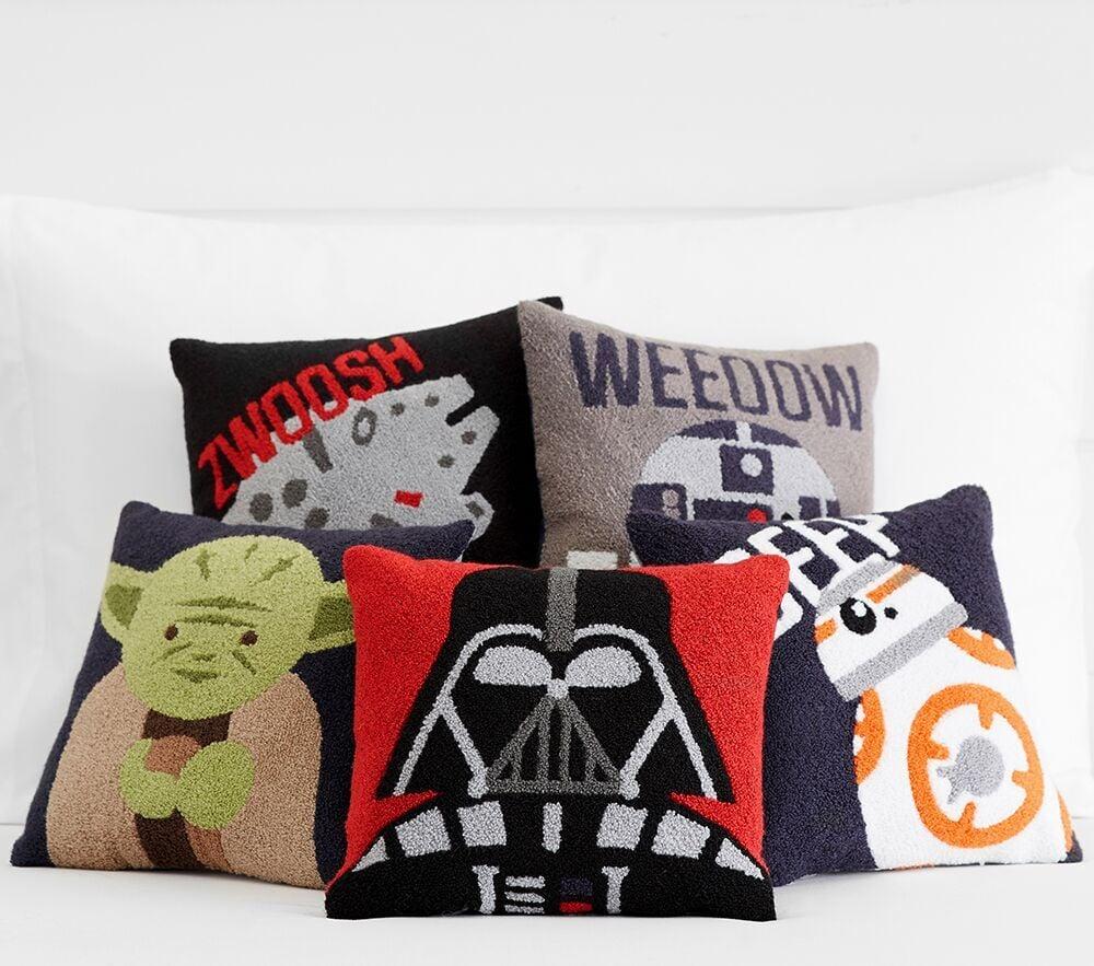 Pottery Barn Kids Star Wars Boucle Decorative Pillows Star Wars