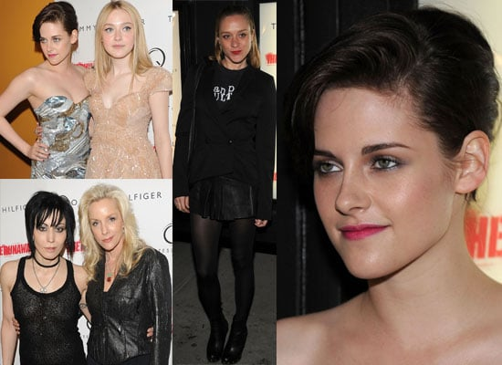 Photos from The Runaways New York Premiere Including Some Exclusive Pics From the Red Carpet of Kristen Stewart