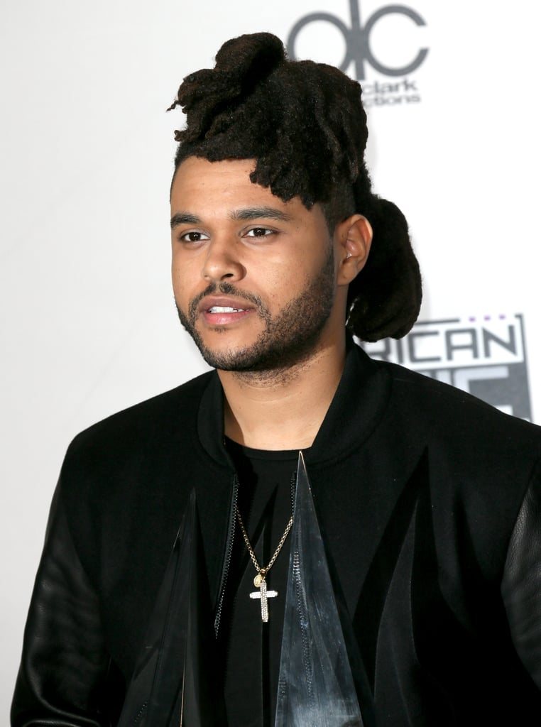 The Weeknd Grown-Out Locs In 2015