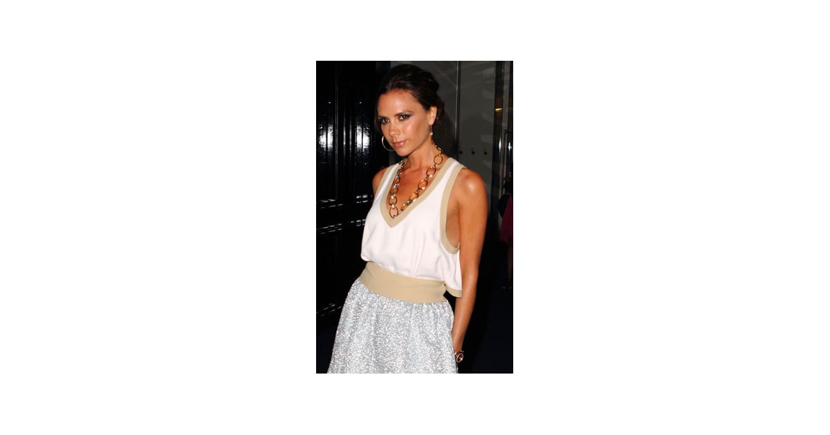 Victoria beckham named number two most influential woman for The woman in number 6