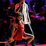 Jenna Dewan and Channing Tatum danced at the Revlon Concert for the Rainforest Fund at Carnegie Hall in NYC.