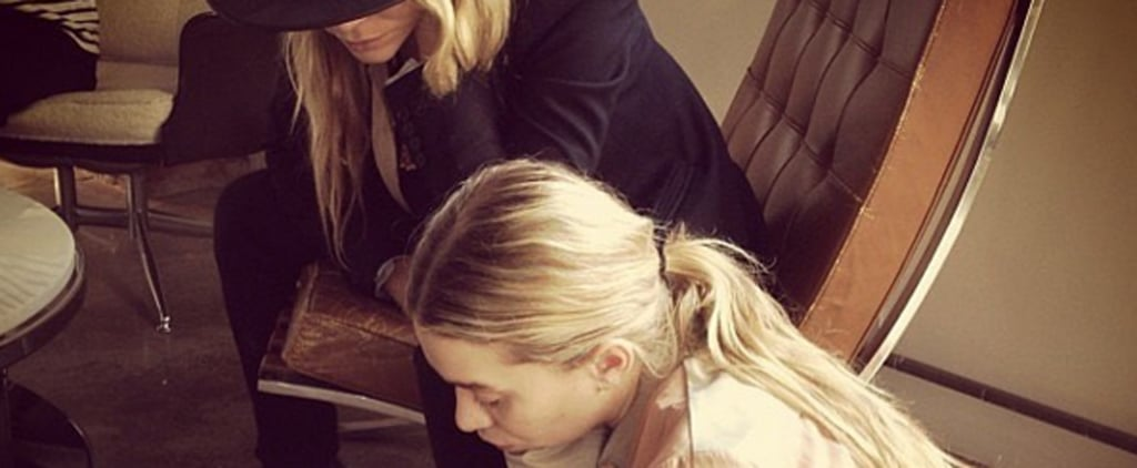 This Photo of Mary-Kate and Ashley Designing Handbags Is Our Everything