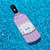 Rosé Wine-Bottle Float
