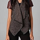 This textural tweed vest has an insanely cool draped silhouette.  Bb Dakota Dustin Herringbone Vest ($95)