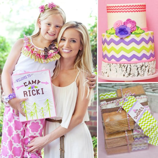 Birthday Parties: The Bachelorette's Daughter's Glamping Party
