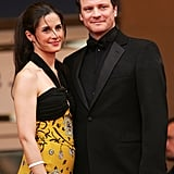 Colin Firth and Livia Giuggioli in 2005
