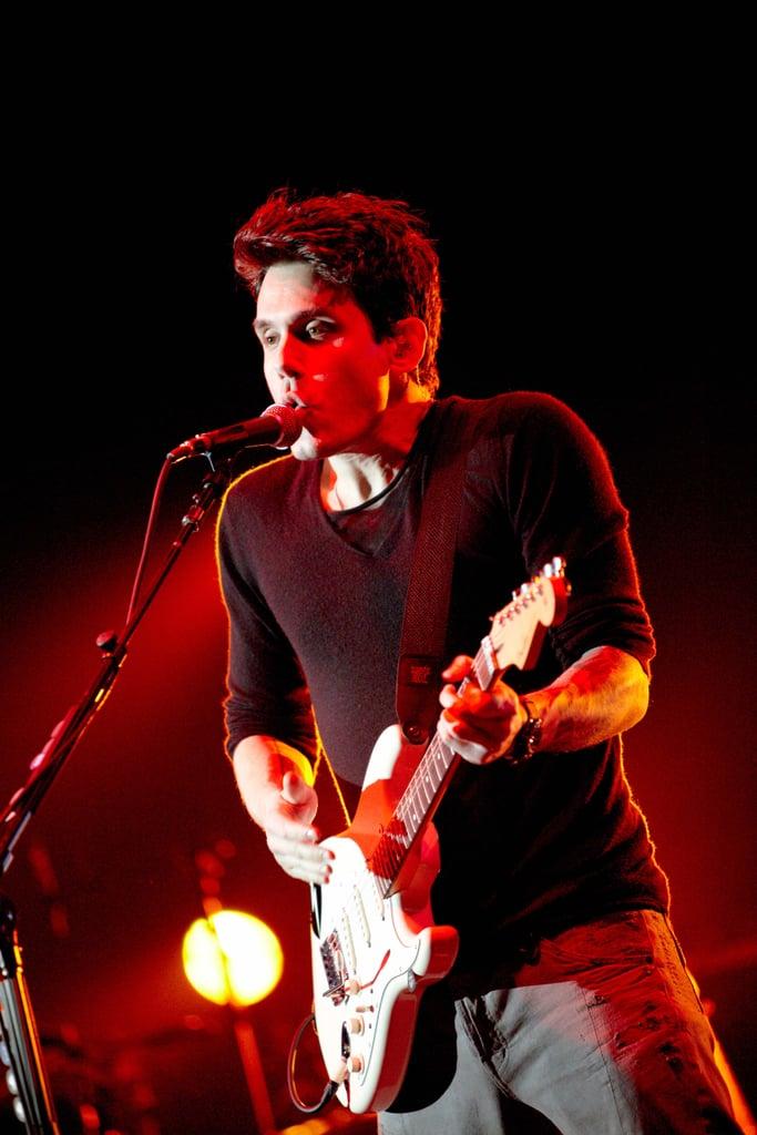 John Mayer Onstage in London