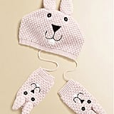 Portolano Kids Bunny Hat and Mittens