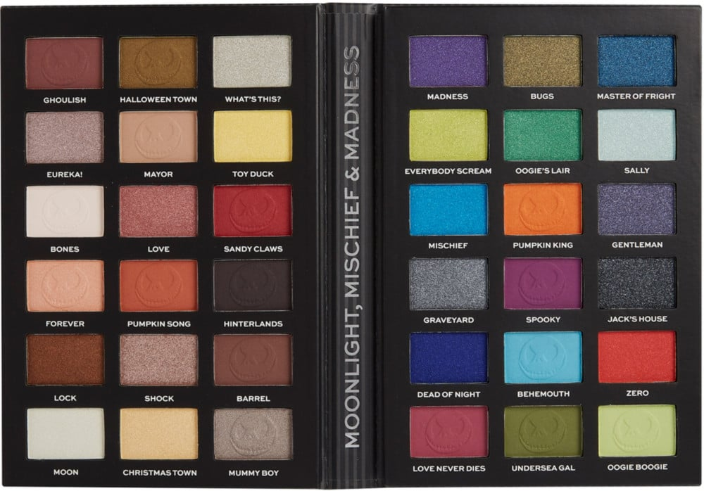 Makeup Revolution The Revolution Nightmare Before Christmas Collection Jack Palette