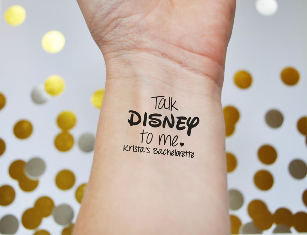 Disney Temporary Tattoos | Bachelorette Party Products | POPSUGAR ...