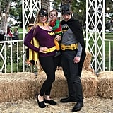 Batman, Batgirl, and Robin