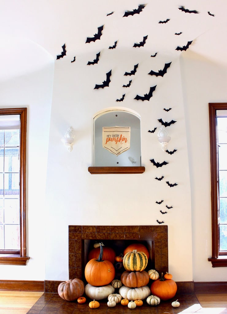 For Your Living Room or Entryway: Black Bat Wall Hanging