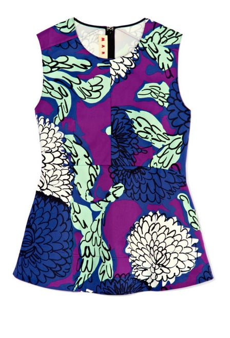 Meet the perfect statement top for Summer: Marni's boldly printed sleeveless style ($350, originally $693).