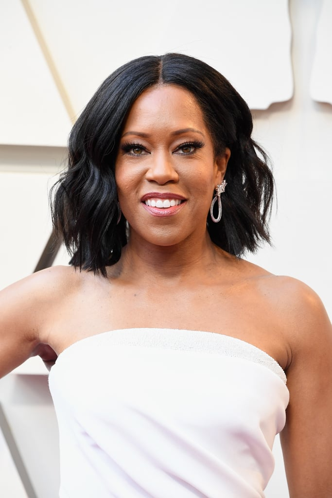 Regina King looked ultraglamorous on the Oscars red carpet partially due to her cat-eye and lashes. The most surprising part of the night wasn't that she won best supporting actress for her role in If Beale Street Could Talk (not surprising — she was brilliant) but that her false lashes cost less than your lunchtime Chipotle order with guac.   The dramatic look was courtesy of none other than Kiss Lash Couture Naked Drama in Tulle ($7) and helped King to look like the award-winner she is. Check out the affordable look ahead.