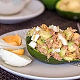 Healthy Avocado Tuna Egg Salad