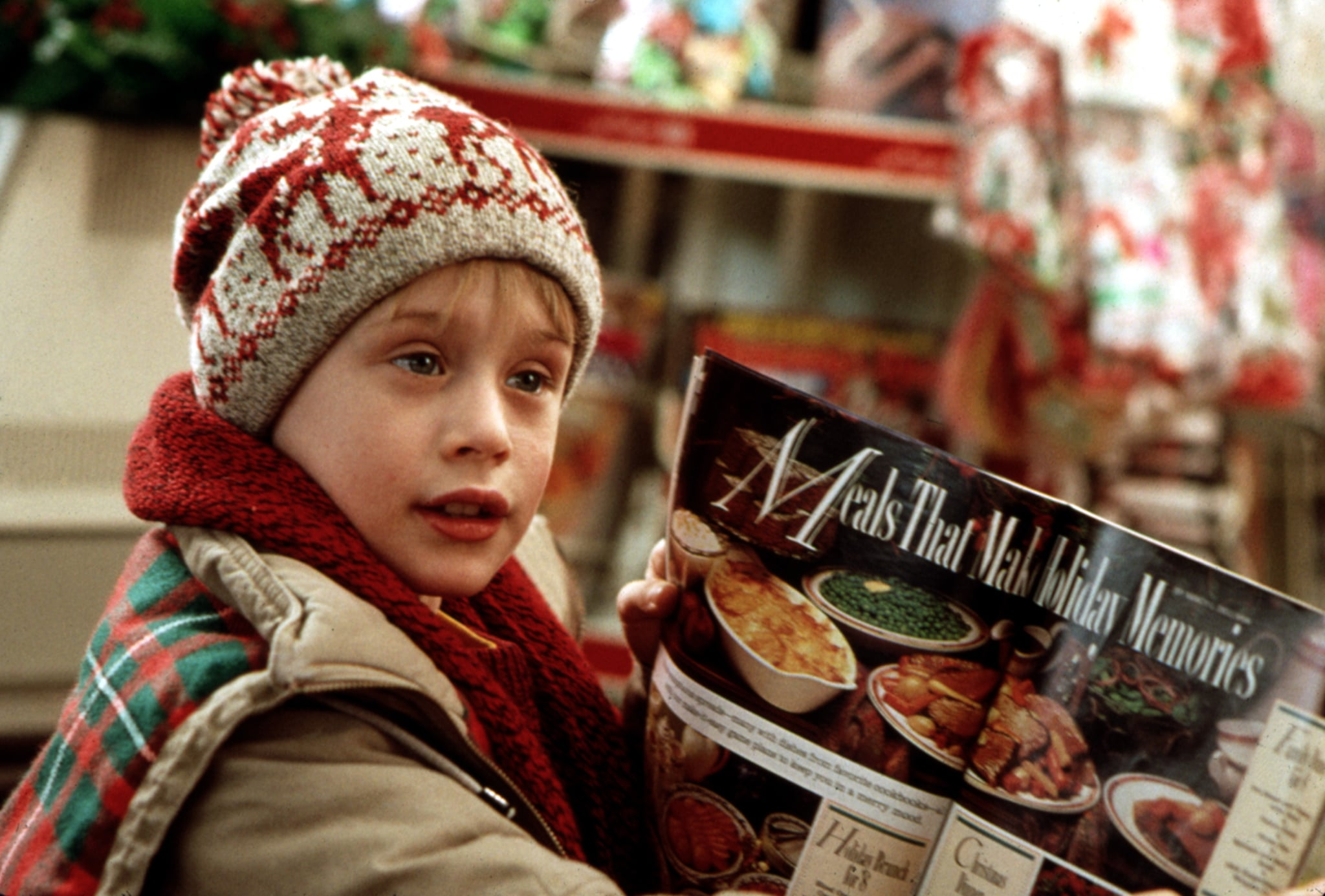 HOME ALONE, Macaulay Culkin, 1990. TM & Copyright (c) 20th Century Fox Film Corp. All rights reserved, Courtesy: Everett Collection.
